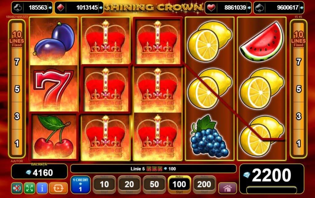 Mega castig Shining Crown