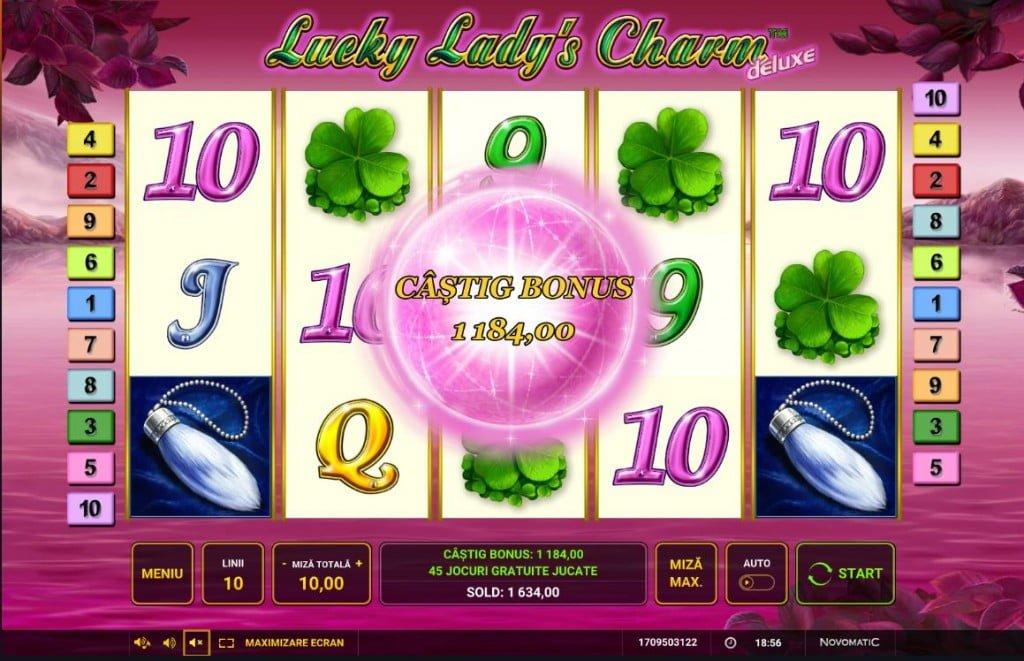 Bonus Lucky Lady's Charm Deluxe