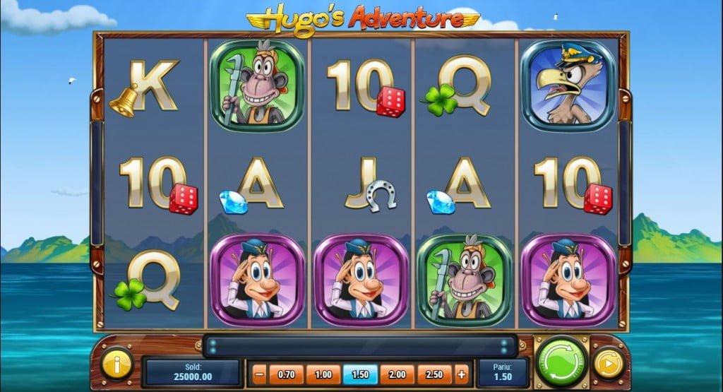 hugo's adventure playngo